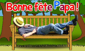 Tranquille, papa !