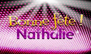 Nathalie - 27 juillet