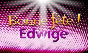 Edwige - 16 octobre