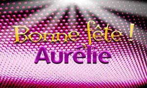 Aurélie - 15 octobre