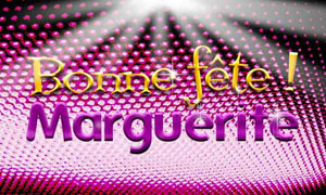 Marguerite - 16 novembre