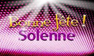 Solenne - 17 octobre
