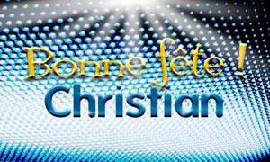 Christian - 12 Novembre