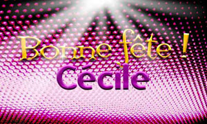 Cécile - 22 novembre