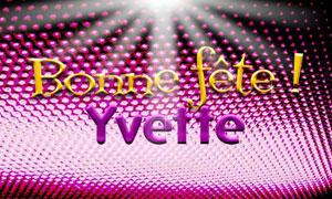 Yvette - 13 janvier