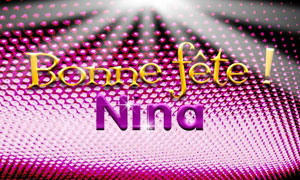 Nina  - 14 janvier