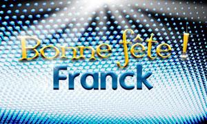 Franck - 4 octobre