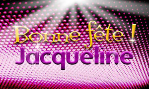 Jacqueline - 08 février