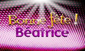 Béatrice - 13 février