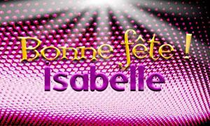 Isabelle - 22 février
