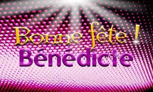 Bénédicte - 16 mars