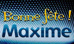 Maxime - 14 Avril