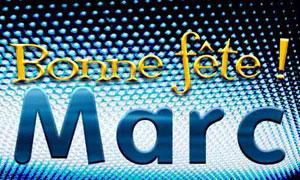 Marc - 25 avril