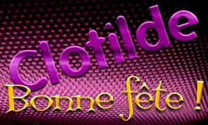Clotilde - 04 juin