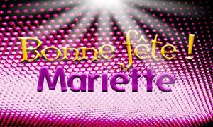Mariette - 6 juillet