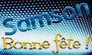 Samson - 28 juillet