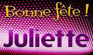 Juliette - 30 juillet