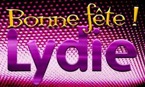 Lydie - 3 août
