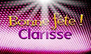 Clarisse - 12 août