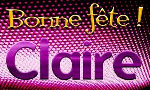 Claire - 11 août