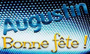 28 août - Augustin