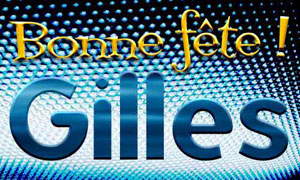 Gilles - 1er septembre