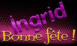 Ingrid - 2 septembre