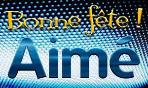 Aimé - 13 septembre