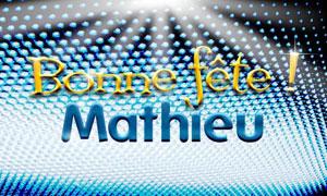 Mathieu - 21 septembre