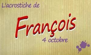 Acrostiche François