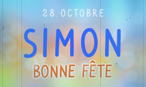 Simon - 28 octobre