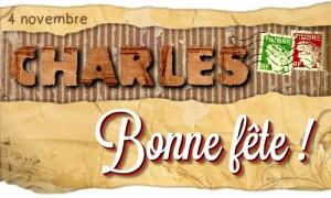Carte Bonne Fete Charles.Cybercartes Cartes De Voeux Cartes Virtuelles Gratuites