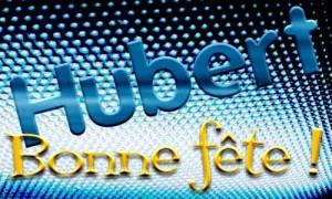 Hubert - 3 novembre
