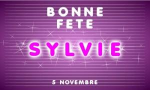 Sylvie - 5 novembre