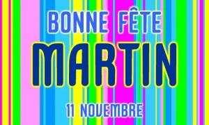 Martin - 11 novembre