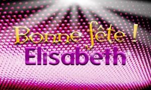 Elisabeth - 17 novembre
