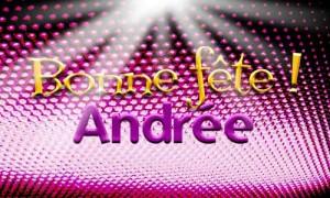 Andrée - 30 novembre