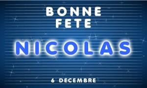 Nicolas - 6 décembre