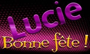 Lucie - 13 décembre