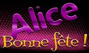 Alice - 16 décembre