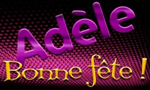 Adèle - 24 décembre