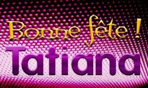 Tatiana - 12 janvier