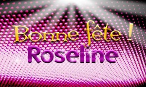 Roseline - 17 janvier
