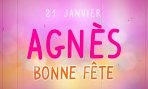 Bonne fête Agnès