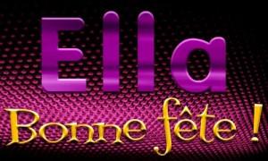Ella - 01 février