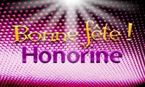 Honorine - 27 février