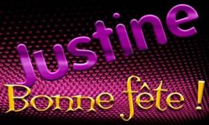Justine - 12 mars