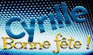 Cyrille - 18 mars