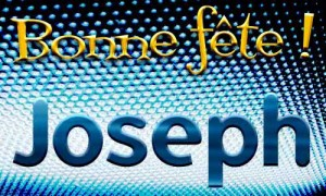Joseph - 19 mars