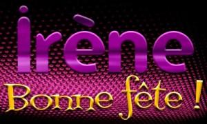 Irène - 5 avril